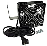 Stove Booster DWF-1 Doorway Room to Room Heat Helper Transfer Fan by Professional Grade Products, 110 CFM