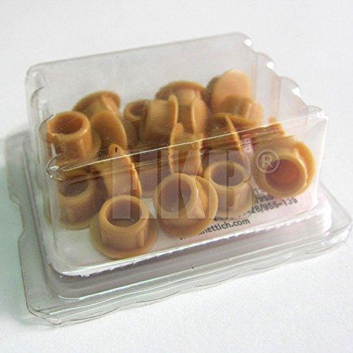 HKB ® 20 Stück Abdeckkappen zum Eindrücken, beige, erle/buche, ø = 8mm, Hersteller Hettich, Artikel-Nr. 89298