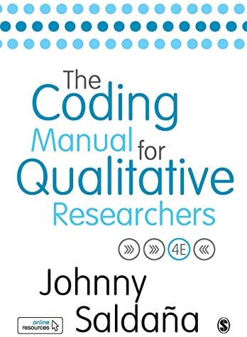 The Coding Manual for Qualitative Researchers product image