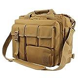 GES Multifunktion Herren Dame Outdoor Militärische Taktische Nylon Schulter Laptop Umhängetasche Aktentasche Handtaschen Laptop Tasche Schultasche Große Genug für 15.6 'Laptop / Kamera