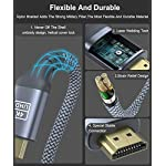 Cavo-HDMI-4k-Ultra-HD-1mCavo-HDMI-20-alta-velocita-Supporta-Ethernet-3D4K-e-ritorno-audio-2160p-Full-HD-1080p-3DHDCP-22HDTVBlu-RayTVPlaystation-PS3PS4XboxArcoHDR