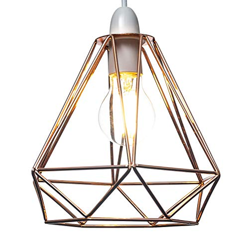Home Treats - Pantalla para lámpara de techo, diseño de unicornio, cristal,...