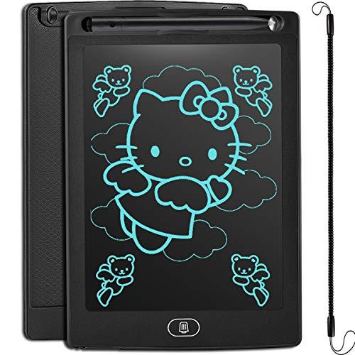 Preisvergleich Produktbild JOEAIS LCD Schreibtafel,  Löschbare Elektronische Digitale Zeichenblock Doodle Board,  Geschenk für Kinder Erwachsene Home School OfficeSchwarz,  8, 5 Zoll