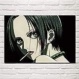 KWzEQ Imprimir en Lienzo Anime Girl Poster anddecorative Pictures para la decoración del hogar de la Sala de estar60x90cmPintura sin Marco