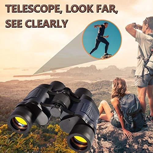 Shenye Fernglas für Erwachsene, Wander Fernglas, Tragbares Kompakt Fernglas für Reise, Jagd, Safari & Vogelbeobachtung - Einfach zu Montieren und zu Verwenden