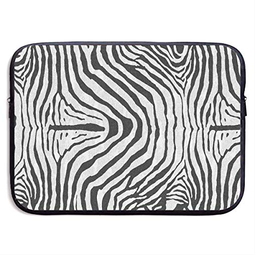 Laptop-Hülle Zebra-Teppich Zeitgenössische Notebooktasche Laptop-Umhängetasche Schutz 15 Zoll