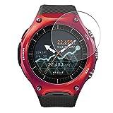 Vaxson 4 Stück Schutzfolie, kompatibel mit Smart Outdoor Watch WSD-F10 CASIO, Bildschirmschutzfolie TPU Folie Displayschutz [nicht Panzerglas Hülle Hülle ]