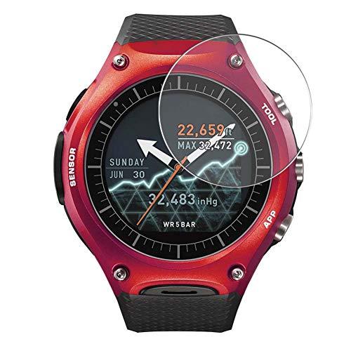 Vaxson 4 Unidades Protector de Pantalla, compatible con Smart Outdoor Watch WSD-F10 CASIO [No Vidrio Templado] TPU Película Protectora