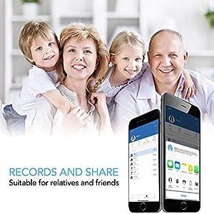 RENPHO Körperfettwaage, Bluetooth Personenwaage mit App, Smart Digitale Waage für Körperfett, BMI, Gewicht, Muskelmasse, Wasser, Protein, BMR, Weiß