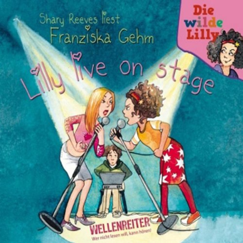 Lilly live on stage audiobook cover art