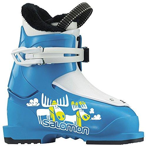 サロモン(SALOMON) スキーブーツ ジュニア T1 Blue/White 17cm 2017-18年モデル L37816800
