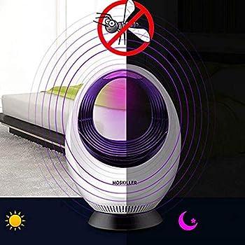 Hyh-t Mosquito Killer, photocatalyseur, désinfectant électronique à Base de LED Non Toxique alimenté par USB et Protection de l'environnement pour l'intérieur