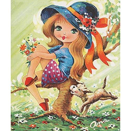 Diamond Painting Jirafa Con Gafas Diamond Painting Kit Completo Adultos Pintura con Diamantes Niños Punto De Cruz Diamante Diy 5D Diamond Painting Hogar Decoracion 30X40Cm