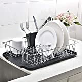 Best Dish Rack For Drying - Popity home 3 piece Sturdy Kitchen Sink Side Review