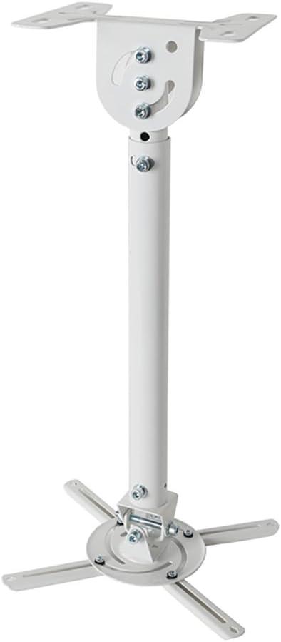 Loctek PT3 Projector Ceiling Mount Bracket White Fits max. 14.46