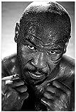 Diy 5d Kit De Pintura De Diamantes Por NúMero Mike Tyson profesional Cuadros Con Diamantes Bordado Punto De Cruz Kits 7.8'x11.8'(20x30cm) Sin Marco