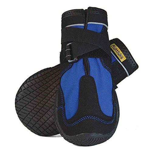 MUTTLUKS, Snow Mushers Winter Dog Boots with Rubber Soles for Cold Weather