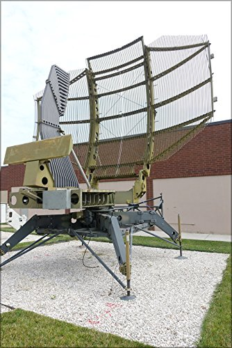 History Galore 24'x36' Gallery Poster, TPS-43 Air Force S-Band Tactical Surveillance Radar, Westinghouse
