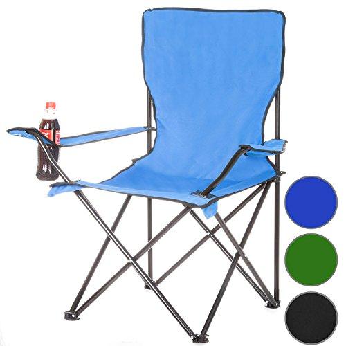 Sedia da Campeggio Sedia da Pesca Sedia da Campeggio Sedia Pieghevole Sedia da Campeggio Sedia Pieghevole Sgabello da Campeggio - Blu