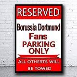 Lesley Coleridge Reserved Borussia Dortmund Retro Vintage