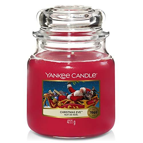 Yankee Candle Candela Giara Media, Christmas Eve