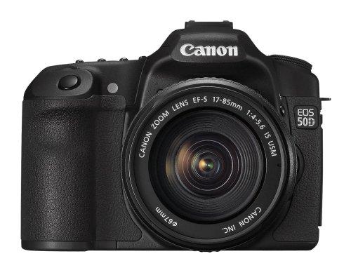 Canon EOS 50D SLR-Digitalkamera (15 Megapixel, Live-View) Kit inkl. EF-S 17-85 IS USM Objektiv (bildstabilisiert)
