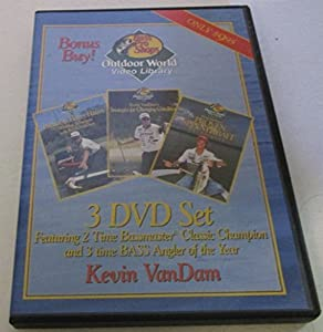 Bass Pro Shops Kevin VanDam Fishing Collection Video - 3 DVDs
