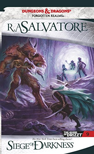 Siege of Darkness (The Legend of Drizzt Book 9) (English Edition)