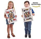 Prextex.com Jumbo Spielkarten, volles Deck riesiger Pokerkarten - Spielspaß für alle...