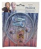 CARTOON GROUP Cerchietto Elsa E Anna Frozen II Disney MOLLETTE Elastici CLIC CLAC - WD20784