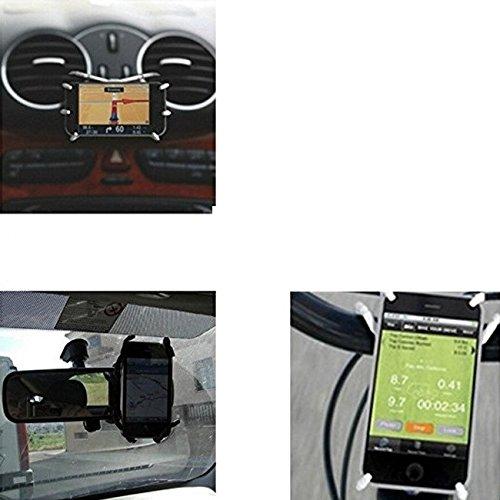 K-S-Trade Für LG Electronics, Xiaomi, Motorola, OnePlus, Huawei, Samsung, Wiko, Archos, Samsung, Oppo, Nubia, Sony Autohalterung und Tischständer Für LG Electronics, Xiaomi, Motorola, OnePlus, Huawei,