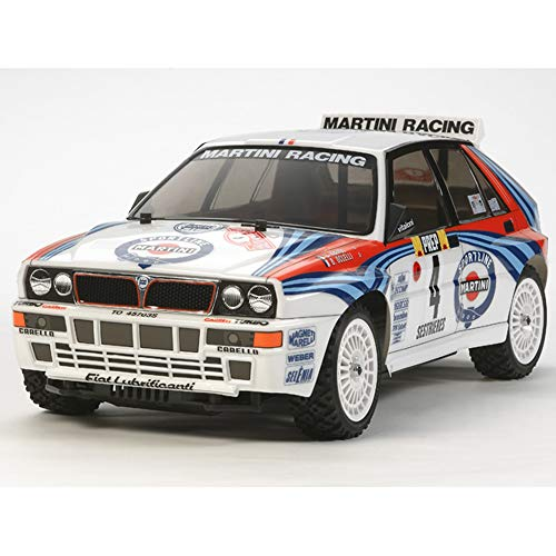 Tamiya America, Inc 1/10 Lancia Delta Integrale 4WD On Road Rally Kit, TAM58569