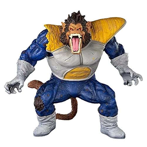 LNNC Dragon Ball Z Great Ape Goku Ape Vegeta Figura Modelo estándar for coleccionables-12 Pulgadas
