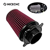 NICECNC Black Air Cleaner Filter Intake Kit Compatible with Yamaha...