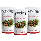 Kevin's Natural Foods Classic Taco Sauce - Keto and Paleo Simmer Sauce - Stir-Fry Sauce, Gluten Free, No Preservatives, Non-GMO - 3 Pack (Classic Taco)