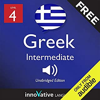 Learn Greek with Innovative Language's Proven Language System - Level 05: Advanced audiobook cover art