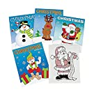 "Fun Express Assorted Christmas Coloring Books | 72 Count 5""x7"" Each Books has 6 Pages"