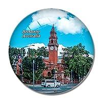 オーストラリアブリスベン時計塔冷蔵庫マグネットホワイトボードマグネットオフィスキッチンデコレーション