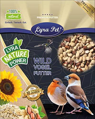 Lyra Pet® 25 kg Erdnusskerne ganz, halb, Splits, gemischt, teilweise mit Haut, 25000 g Erdnüsse, Vogelfutter