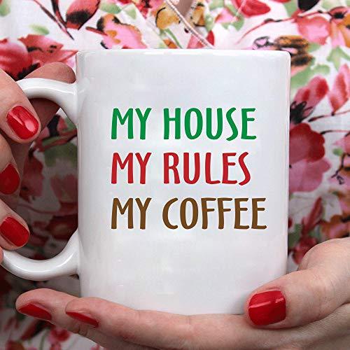 N\A Mi casa mis Reglas mis cafés Tazas, Tazas de café