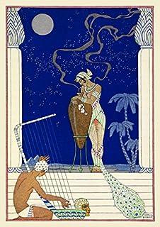 BiblioArt Series ジョルジュ・バルビエ「エジプト」 ジークレープリント(額絵)