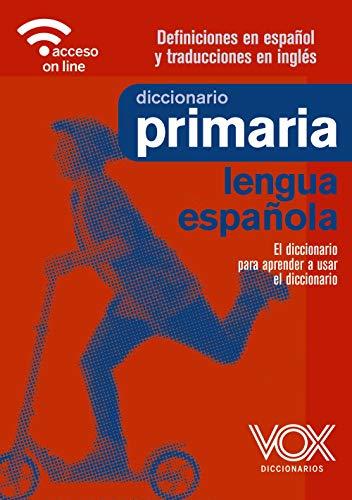 Diccionario Español Primaria Rae Marca Vox