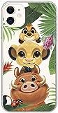 Ert Group DPCSIMBF1660 Disney Cubierta del Teléfono Móvil, Simba and Friends 003 iPhone 11