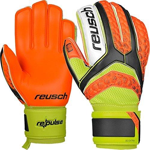 Guanti Portiere Calcio REUSCH Re:Pulse Repulse SG Extra Shocking Orange Palmo Colour Attack!