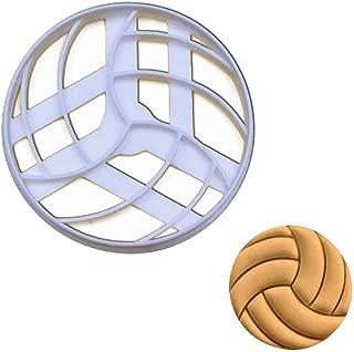 Volleyball cookie cutter, 1 piece - Bakerlogy