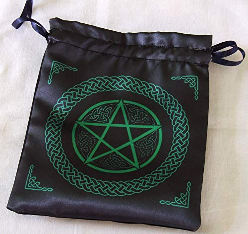 Tarot Bag - Altar Cloth Bag - Celtic Pentacle