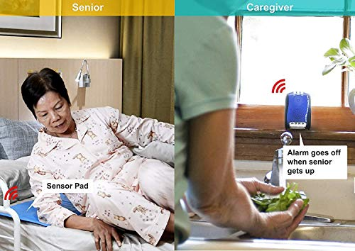 Bed Exit Pressure Sensor Pad for Patient Bed Alarm/Fall Prevention Alarm...