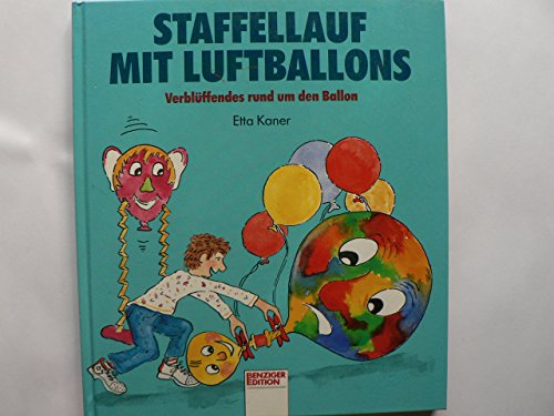 Staffellauf mit Luftballons.
