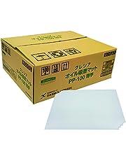 【ケース販売】 クレシア オイル吸着マット PP-100 薄手 吸収量約300g/枚 ×100枚入 油の吸着速度が速く リーズナブルなシートタイプ 60930