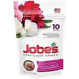 Jobe's Azalea, Camellia & Rhododendron Fertilizer Spikes, 10 Spikes